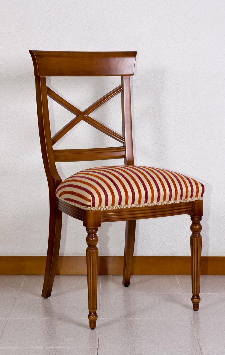 Silla mod b 86 el taller del mueble - Escabeles tapizados ...
